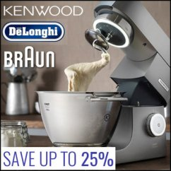 Braun Kitchen Appliances Digital Timer News Up To 25 Off On De Longhi Kenwood Raru Save And Promotion Is Valid Until The 30th Of March Or While Supplier Stocks Last