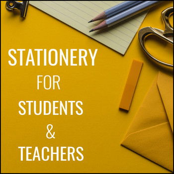 news stationery for students