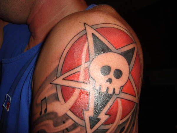 alkaline trio tattoo