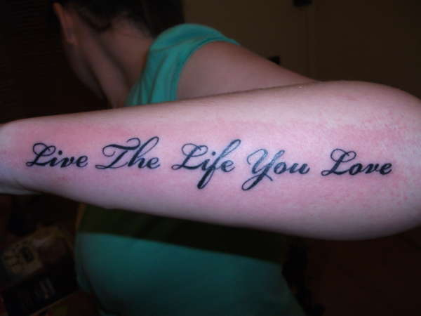 20 Live Life Tattoo Ideas And Designs