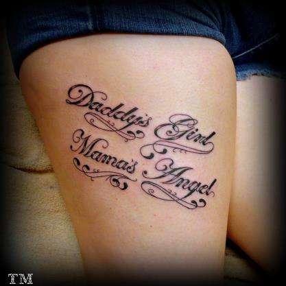 20 Angel Script Tattoos Ideas And Designs