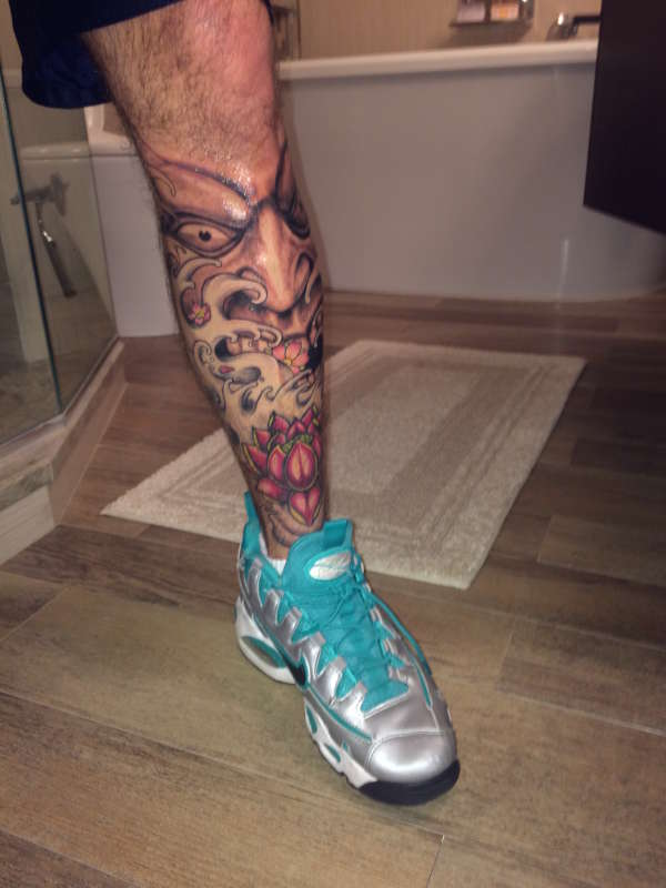20 Asian Inspired Leg Sleeve Tattoos Wome Ideas And Designs