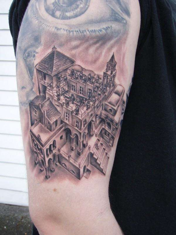 Mc Escher Tattoo