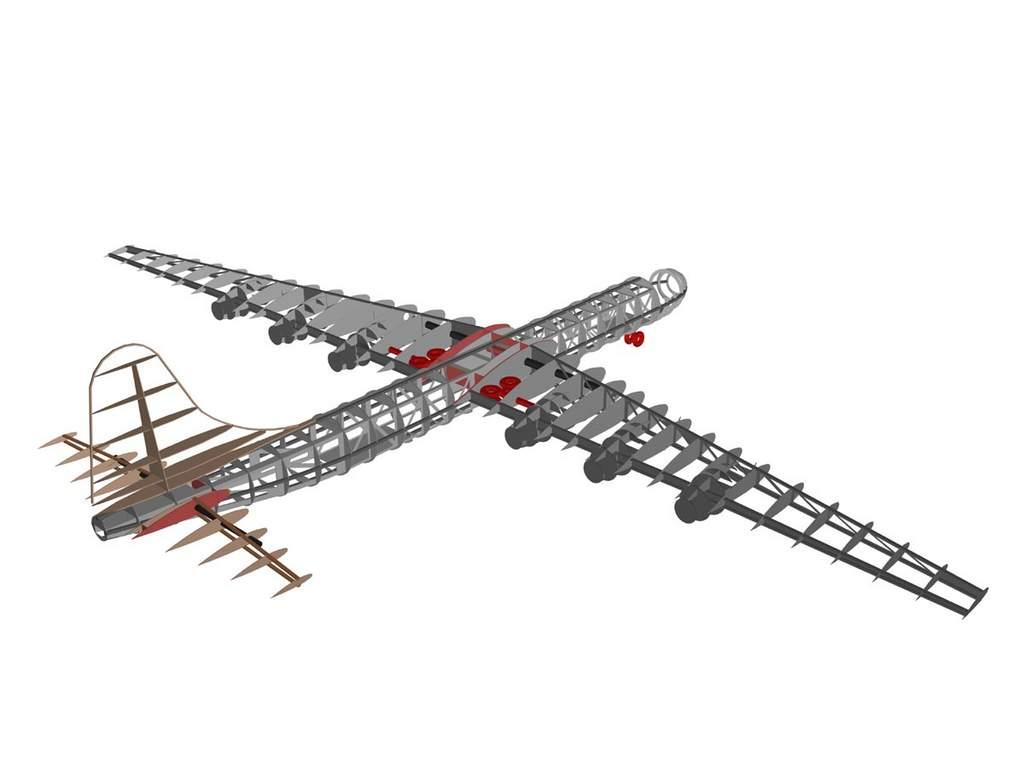B-36D 3D model