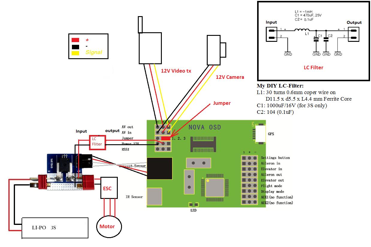 gopro wiring diagram