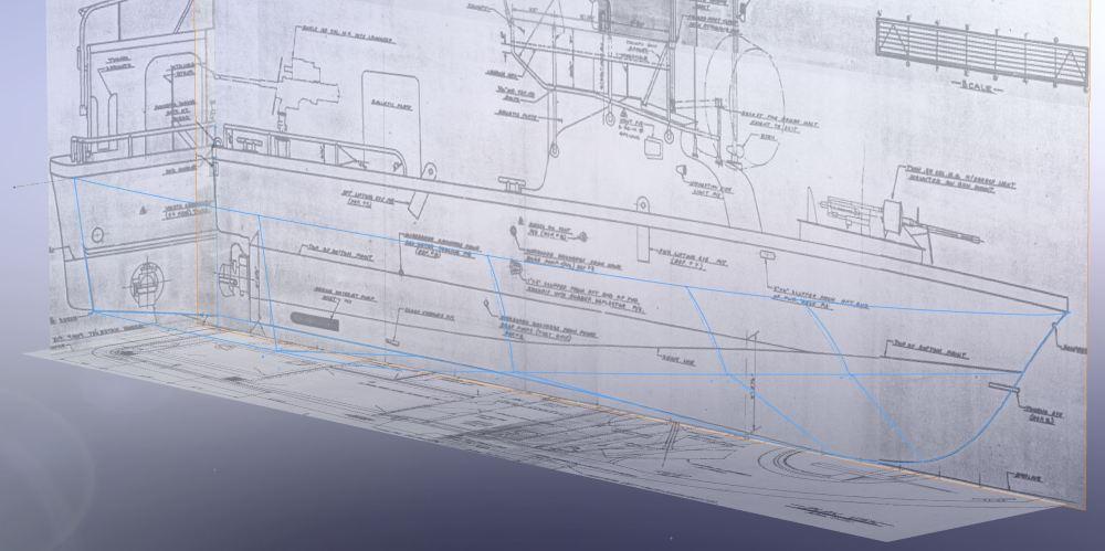 medium resolution of pbr mkii patrol boat river 3d hull reconstruction