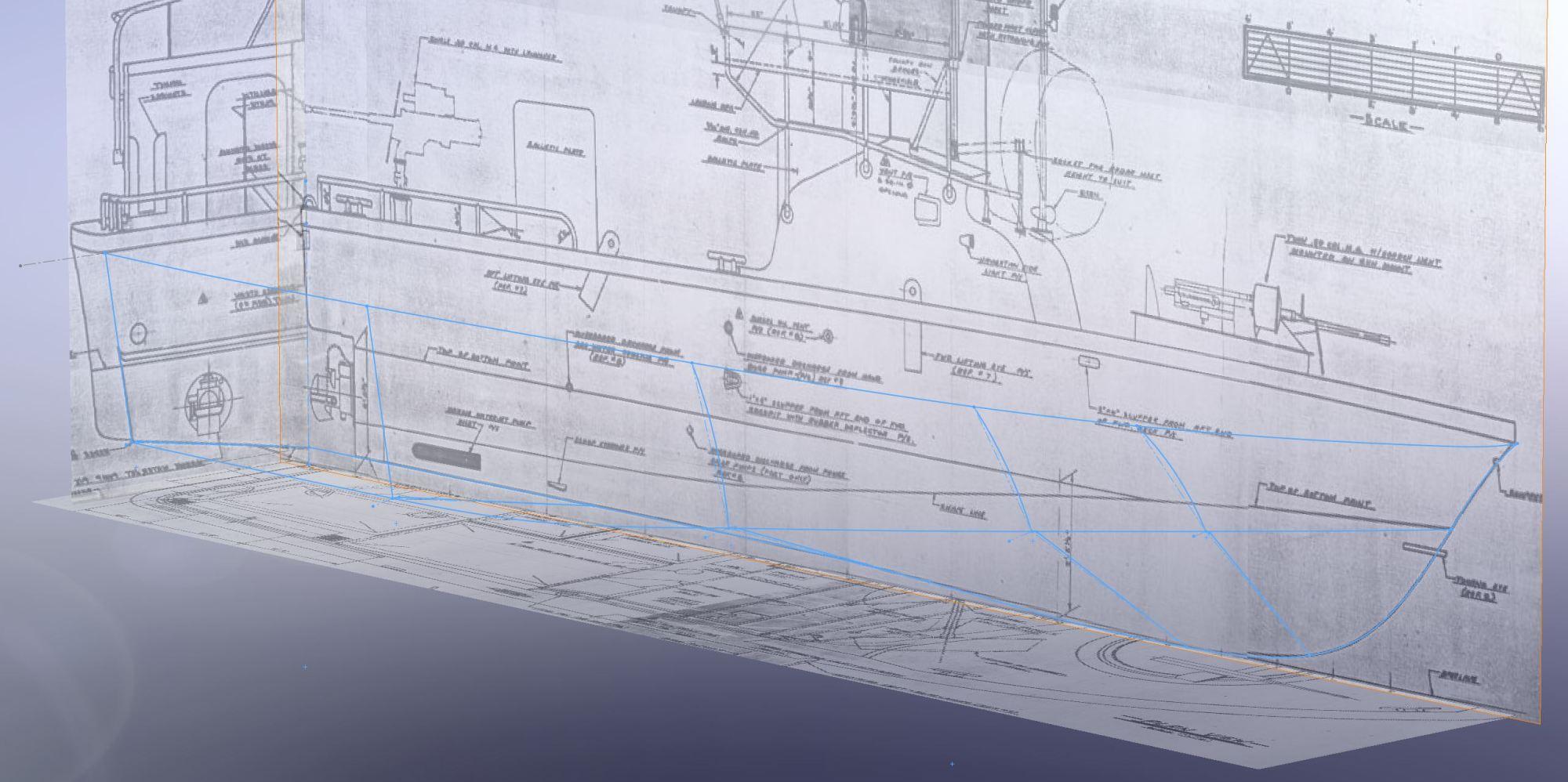 hight resolution of pbr mkii patrol boat river 3d hull reconstruction
