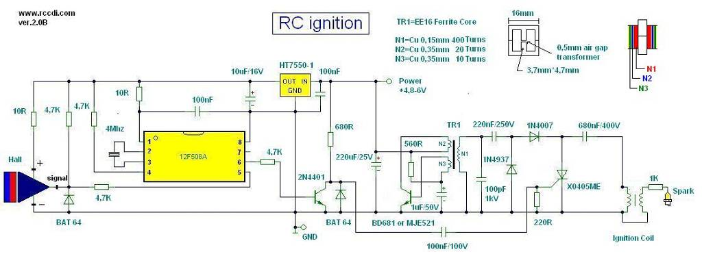 Motorcycle Wiring Diagram On Ignition Coil Wiring Diagram 1 Basic