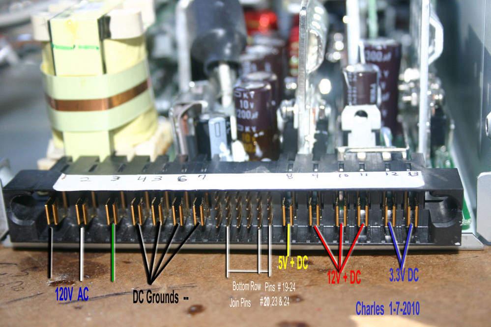 Server Power Supply Wiring Diagram