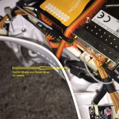 Dji Phantom 2 Wi Fi Wiring Diagram Electrical Plug 7mm Ferrites Reduce Camera Lead Interference V 43