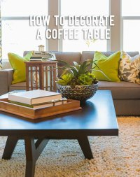 How to Decorate a Coffee Table   RC Willey Blog