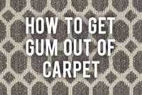 Get Gum Out Of Carpet | Review Home Co
