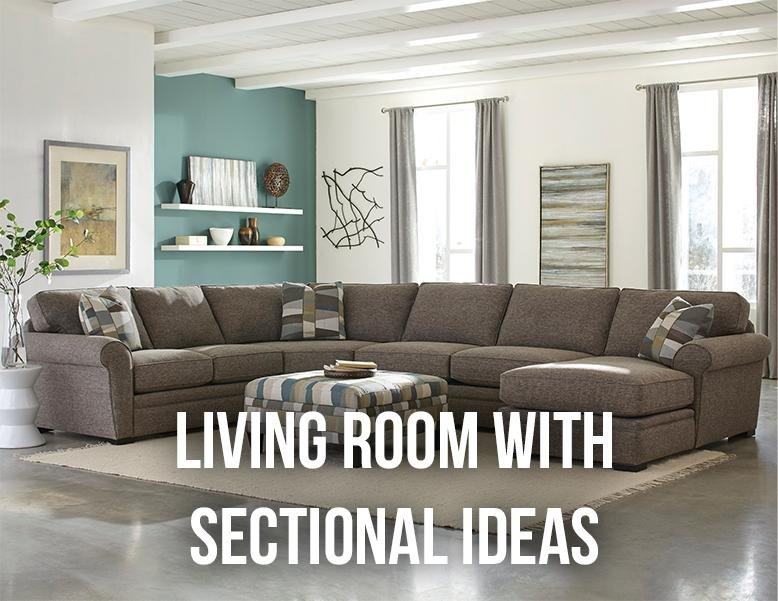 living room with sectionals the brick sectional ideas rc willey blog