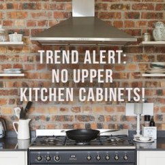 Upper Kitchen Cabinets Pedestal Table Trend Alert No Rc Willey Blog If You Find Yourself Keeping Up With The Latest Interior Design Trends Ve Doubt Noticed There Is A Major Movement That Seems To Be Sweeping