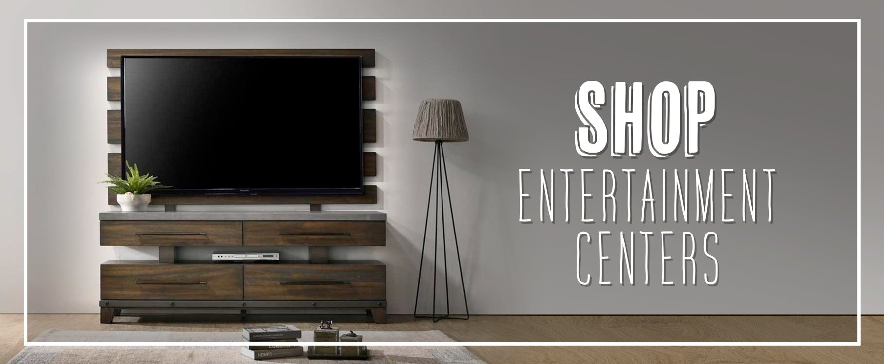 shop entertainment centers and tv stands for your home [ 1800 x 742 Pixel ]