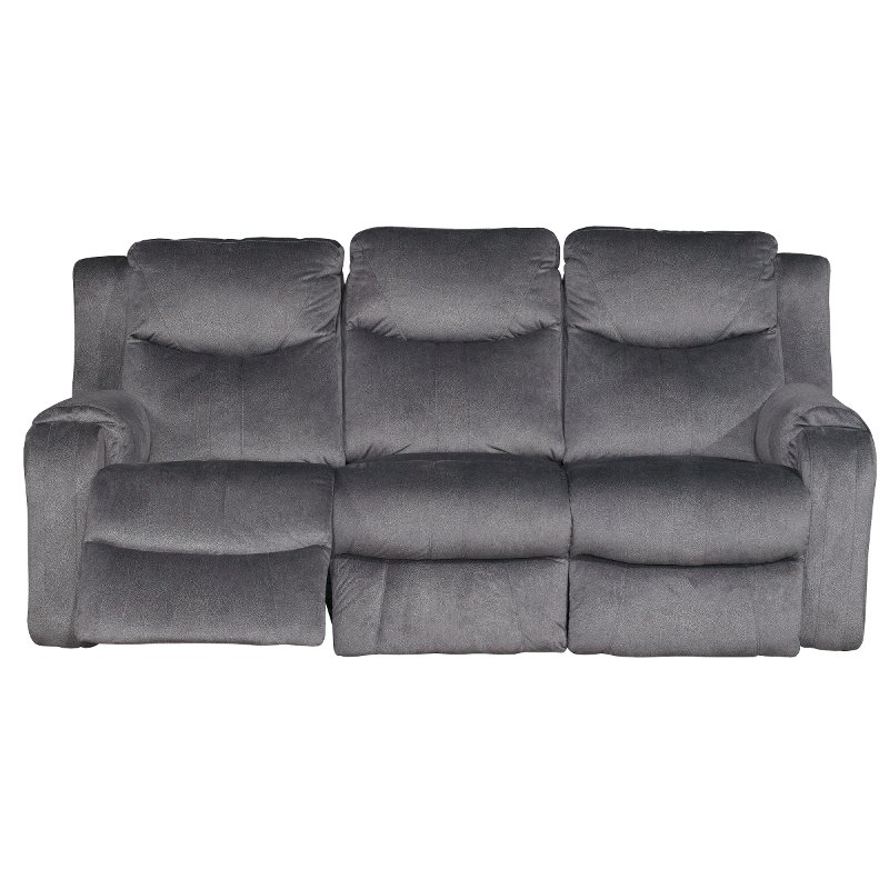 grey power reclining sofa wooden set dusk gray marvel rc willey furniture store