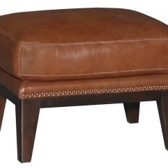 Brown Accent Chair With Ottoman Office Mat 48 X Chestnut Leather Match And