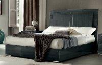 Dark Gray Modern 6 Piece Queen Bedroom Set - Versilia | RC ...