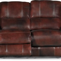 Nailhead Recliner Sofa Sleeper Chair Auburn Leather Match Power Reclining And Loveseat