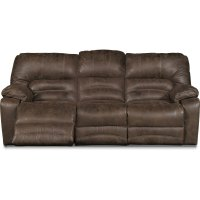 Red Reclining Sofa Microfiber Red Microfiber Fabric Living ...