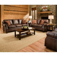 2 Piece Living Room Furniture Design Ideas With Leather Couch Store Couches Bedroom Sets Dining Tables More Rc Classic Traditional Brown Set Shiloh