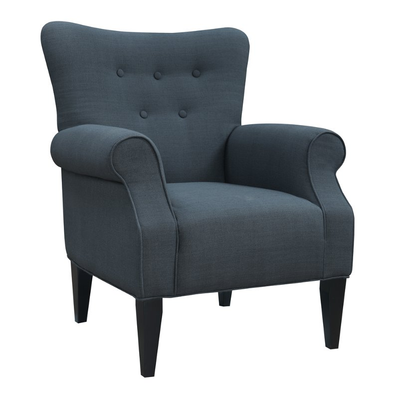 dark teal accent chair hanging wicker chairs canada classic lydia rc willey furniture store