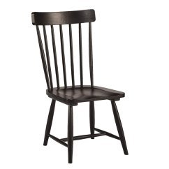 Distressed Black Dining Chairs G Plan Teak Magnolia Home Furniture Spindle Back Chair