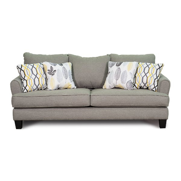 sofa preston docks furniture wood shop couches and sofas for sale rc willey store casual contemporary stone gray bryn