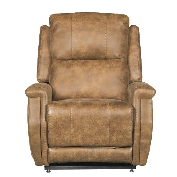 motor chairs for sale chair stand lift and recliners rc willey furniture store saddle brown 3 devin