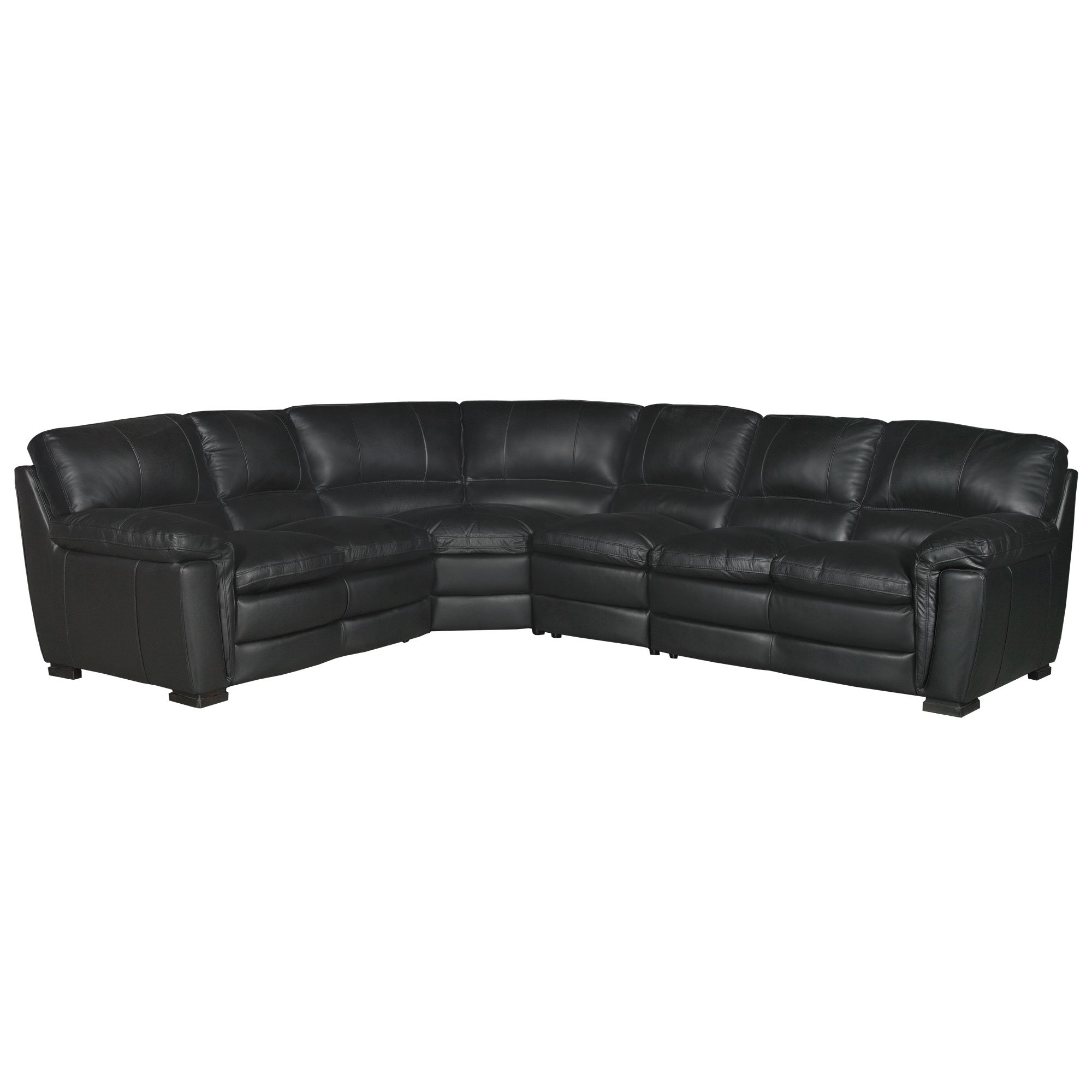 living room black leather sectional suite for sale contemporary 4 piece sofa tanner rc willey furniture store