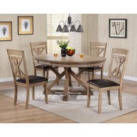 Mushroom 5 Piece Dining Set - Grandview | RC Willey ...