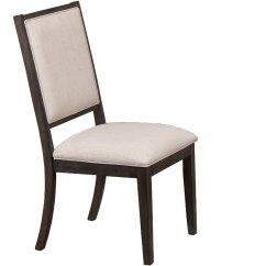 Gray Upholstered Dining Chairs Stretch Recliner Chair Covers Contemporary Hartford Rc Willey Furniture Store