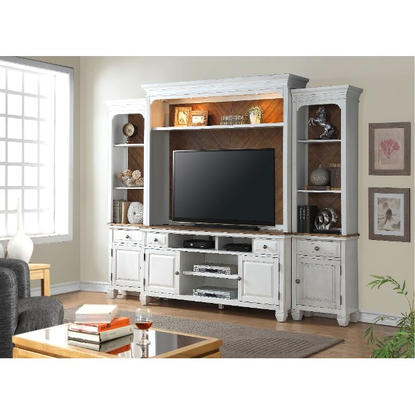 entertainment units living room white table buy a wall unit center for your rc 4 piece classic camden