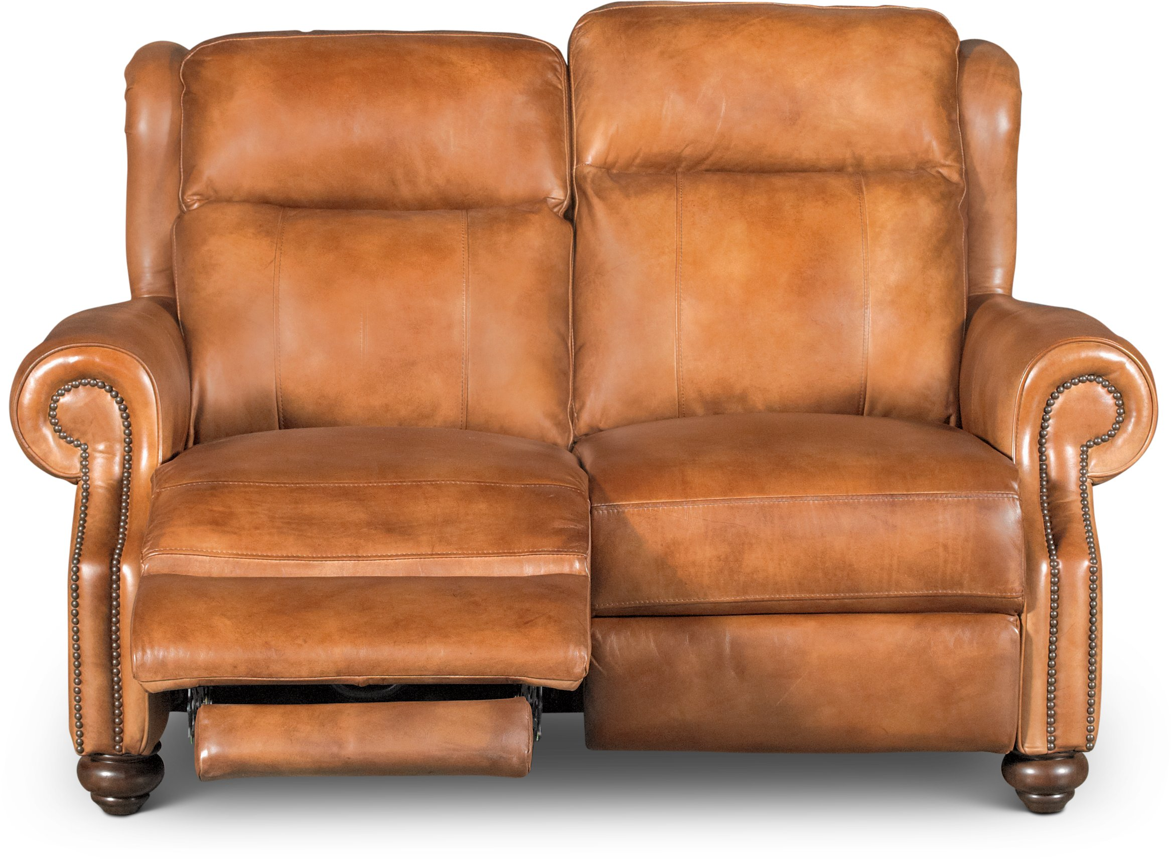 light brown leather reclining sofa duck egg blue throws uk whiskey power