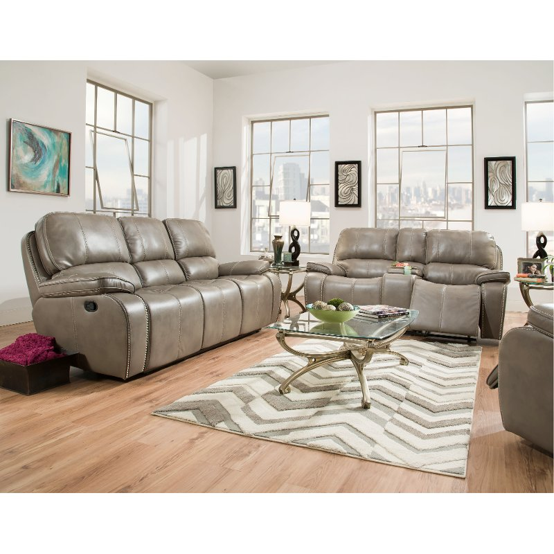 recliner living room set colour scheme ideas smoke gray power reclining jamestown rc willey furniture store