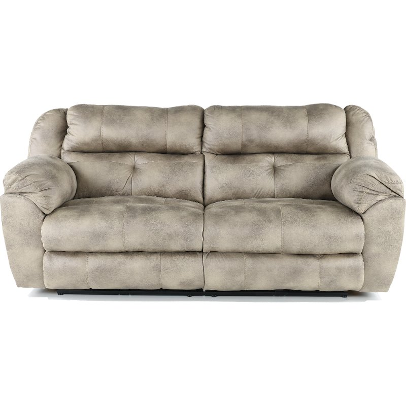 grey power reclining sofa outlet basel steel gray ferrington rc willey furniture store