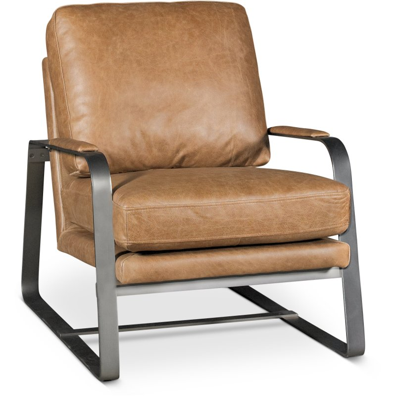 brown accent chairs teak outdoor saddle leather chair wayne rc willey furniture store