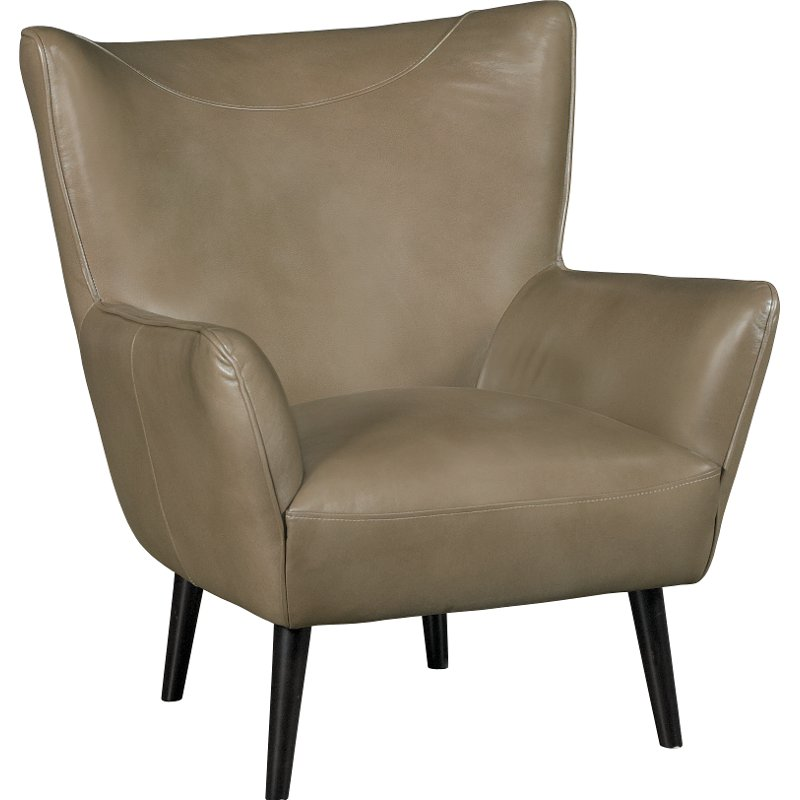 accent wingback chairs can you paint leather mink light brown match wing back chair jet rc willey furniture store