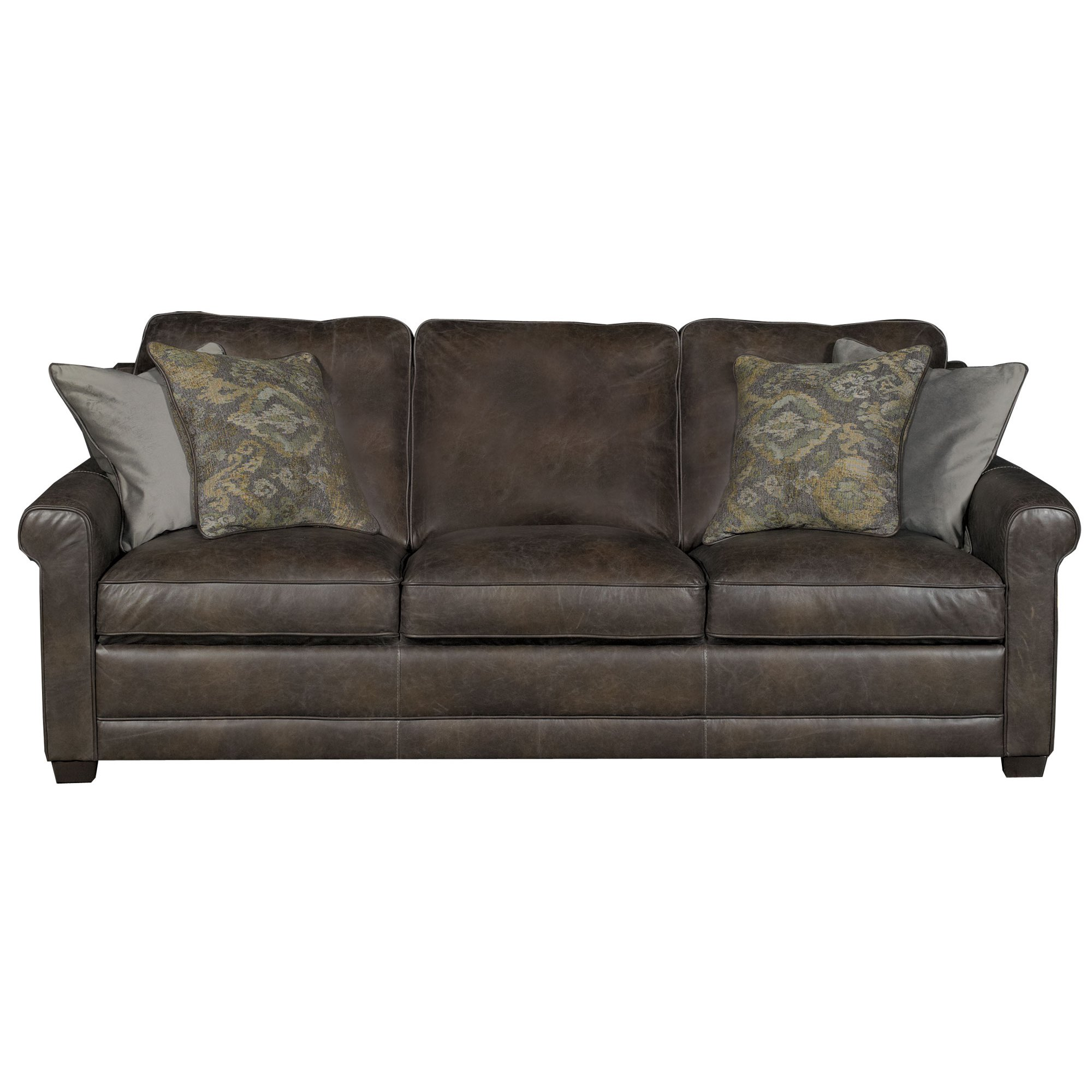 nicoletti lipari grey italian leather sofa chaise circle sectional bed stone kane s furniture sofas and couches