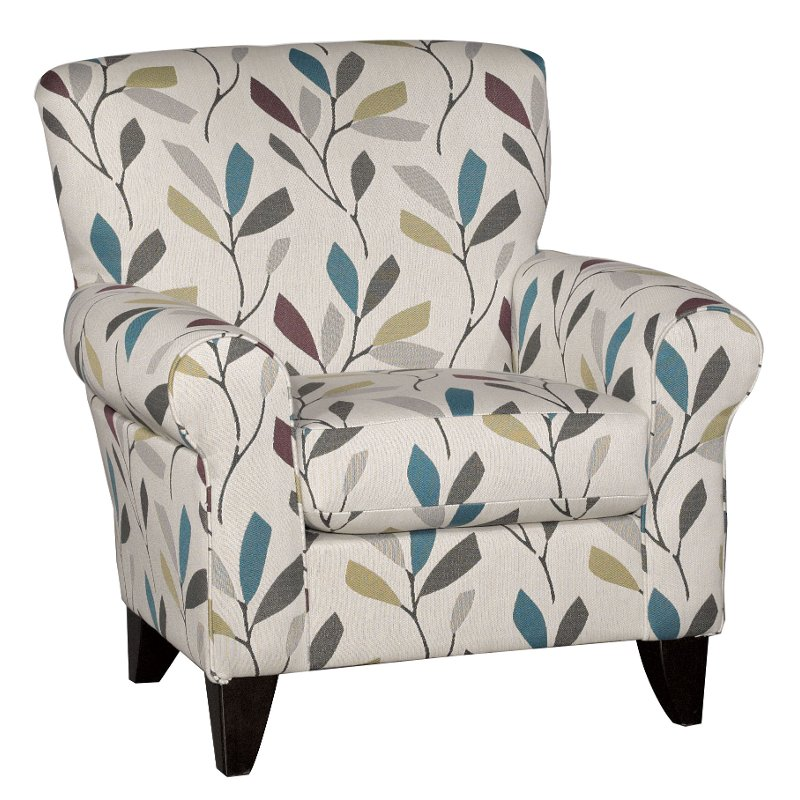 contemporary accent chair thermarest easy cream casual dayton rc willey furniture store