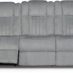 Grey Power Reclining Sofa Cheap Recliner Singapore Veritas Gray Transformer Rc Willey Furniture Store