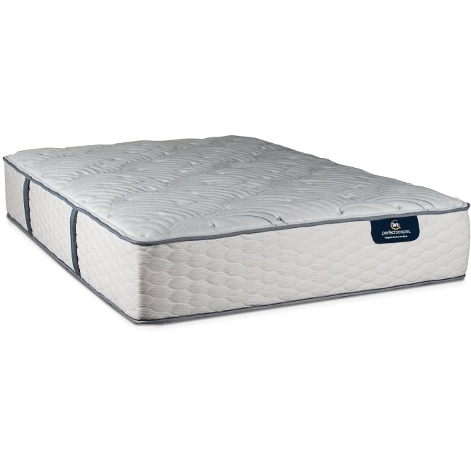 124242 3050 Queen Mattress Serta Mackay Plush Perfect Sleeper