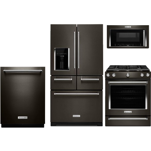 kitchen appliance suites door packages searching kitchenaid rc willey kit 4 piece package with 5 8 cu ft