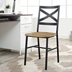 X Back Chairs Wooden High Chair Nz Metal Wood Seat Dining Pair Rc Willey Furniture Store