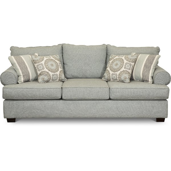 cheap sofas in las vegas nv 90 inch sofa table shop couches and for sale rc willey furniture store casual classic mist green alison