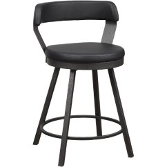 Chair Stool Black Hammock Swing Nz Rc Willey Sells Bar Stools For Dining Room And Man Caves Matte Modern Swivel Counter Height Appert