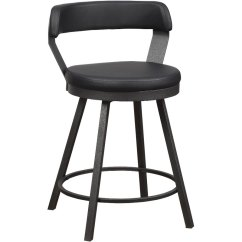 Counter Height Chair Target Cushions Kitchens Matte Black Modern Swivel Stool Appert Rc Willey Furniture Store