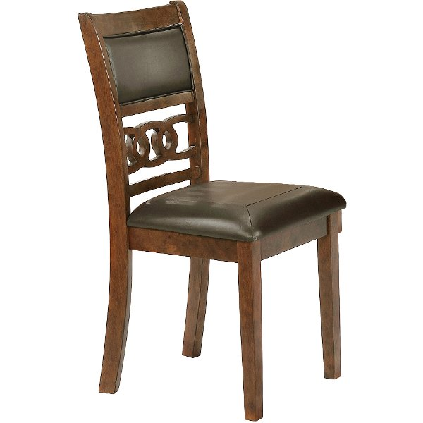 leather dining room chairs 18 inch round chair cushions buy and furniture from rc willey caramel chair14999 brown traditional cally