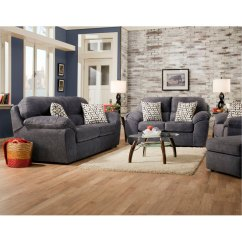 Living Room Set Clearance Ceiling Colours For Casual Contemporary Steel Blue Imprint Rc Willey Furniture Store