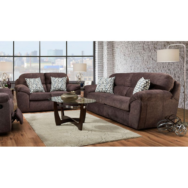living room set clearance tuscan design casual contemporary brown reclining imprint rc willey furniture store